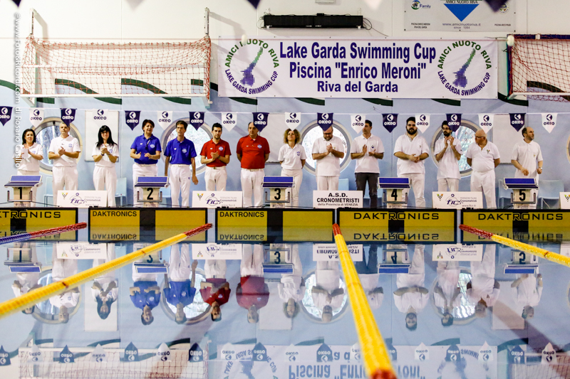 2017 Lake Garda Swimming Cup - l'apertura